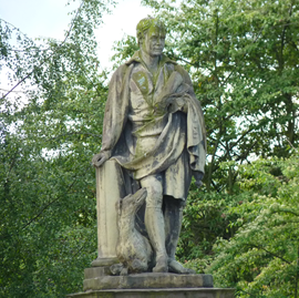 Walter Scott Statue South Inch Perth